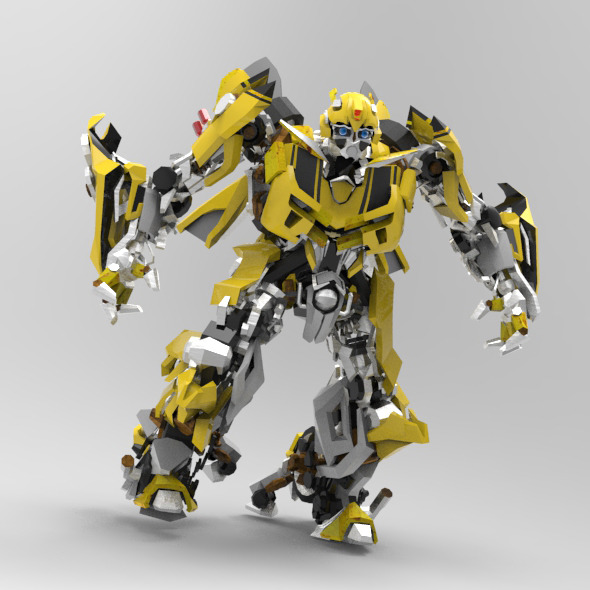 3DOcean Autobot Bumblebee 9739864