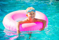 Kid Having Fun in Swimming Poo - PhotoDune Item for Sale