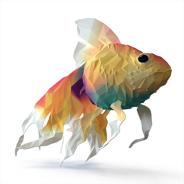 3DOcean Fish Flat Surface Shader 9740943