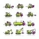 Set of Construction Equipment - GraphicRiver Item for Sale