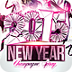 2015 New Year Champagne Spray - GraphicRiver Item for Sale