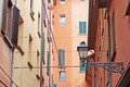 General view of the downtown streets Bologna italy - PhotoDune Item for Sale