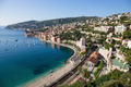 Panoramic view of Cote d'Azur near the town of Villefranche-sur- - PhotoDune Item for Sale