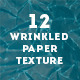 12 Wrinkled Paper Textures - GraphicRiver Item for Sale