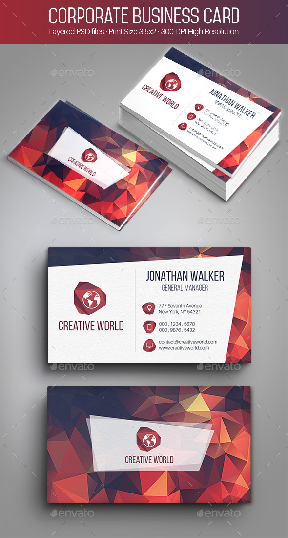 GraphicRiver Creative Corporate Business Card 002 9741518