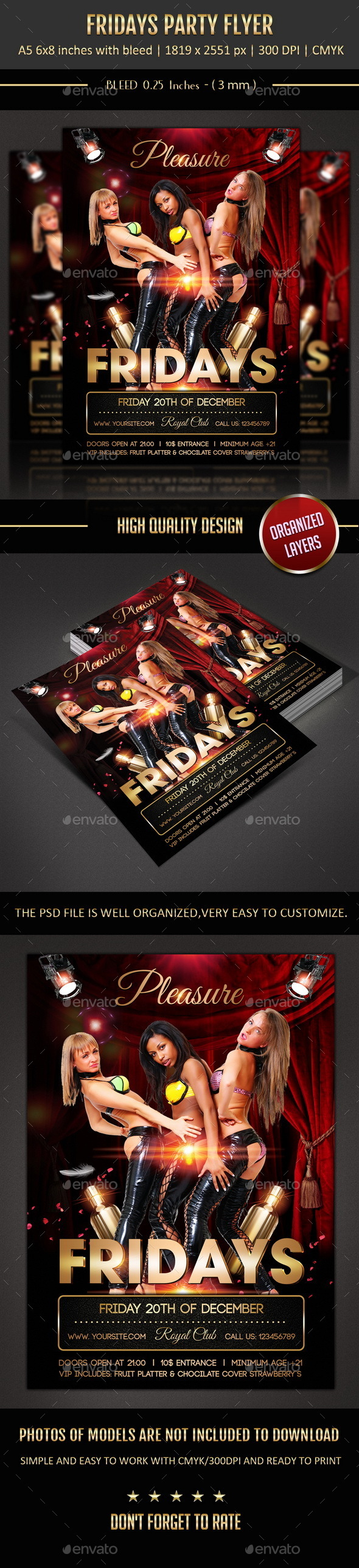 GraphicRiver Friday Party Flyer 9741640