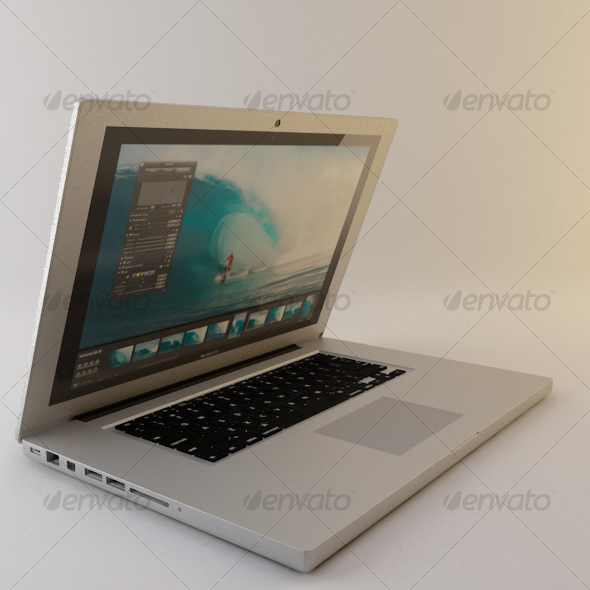 Appl Macbook Pro - 3DOcean Item for Sale