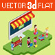 Isometric Online Shopping Design - GraphicRiver Item for Sale
