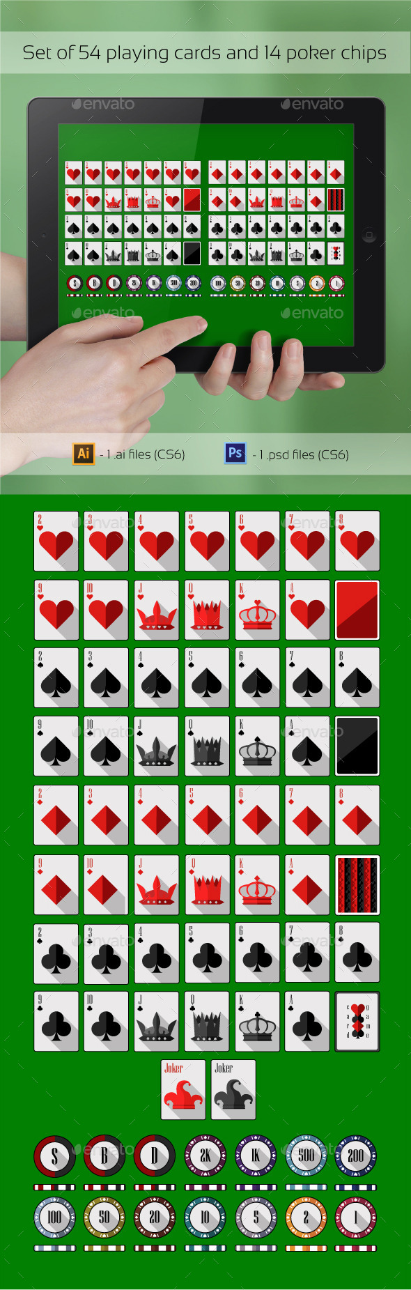 GraphicRiver Poker Set 9741967