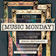 Music Monday Poster - GraphicRiver Item for Sale