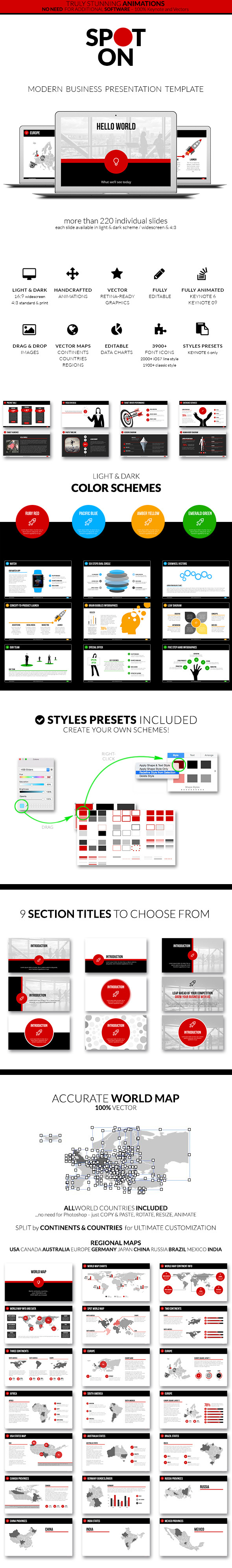 GraphicRiver Spot On Keynote Presentation Template 9742118