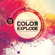 Color Explode Flyer Template - GraphicRiver Item for Sale