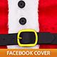 Santa Claus Belt Facebook Cover - GraphicRiver Item for Sale