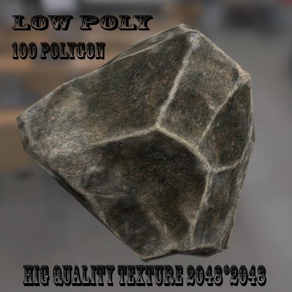 3DOcean Rock 9742411