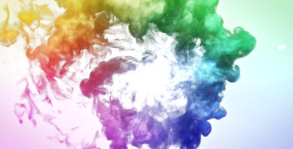 Colorful Smoke Logo Reveal