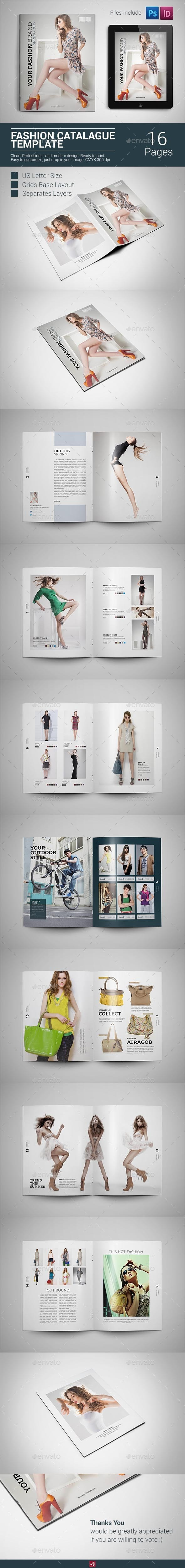 GraphicRiver Fashion Cataloque Template 9742508