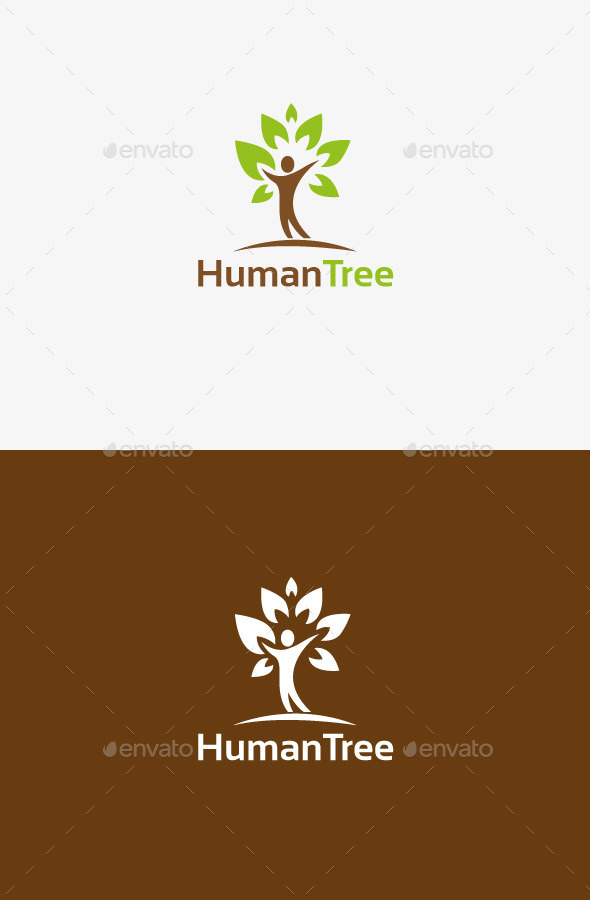 GraphicRiver Human Tree 9742526