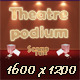 Theatre podium - GraphicRiver Item for Sale