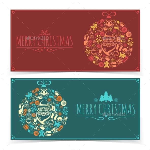 GraphicRiver Christmas Banners 9742584