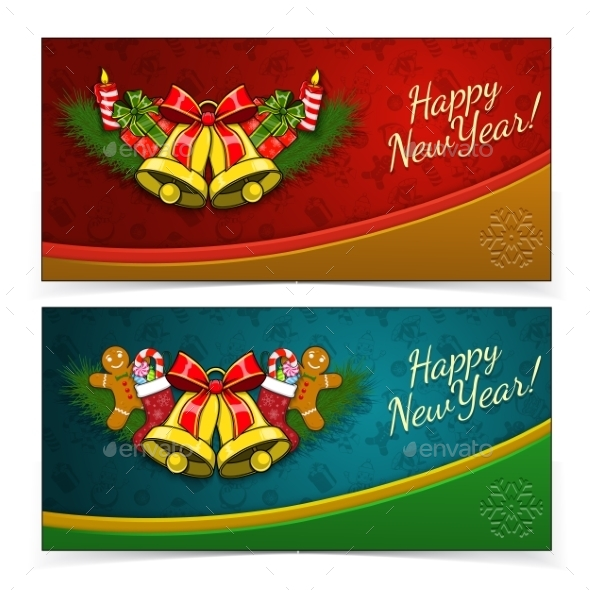GraphicRiver New Year Banners 9742585
