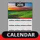 Calender 2015 - GraphicRiver Item for Sale