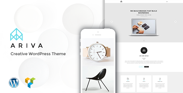 ThemeForest Ariva Onepage for Team Band Group Company 9702577