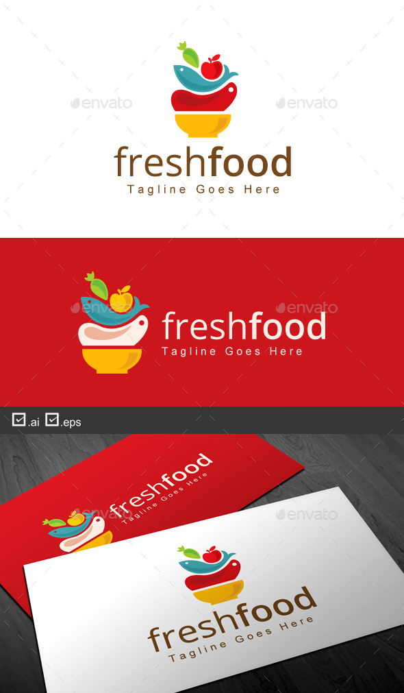 GraphicRiver Fresh Food 9743245