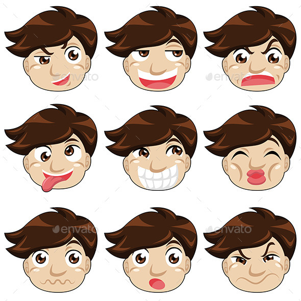 Different Face Expressions