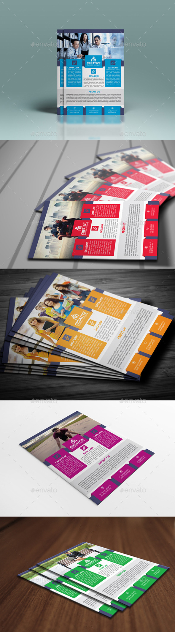 GraphicRiver Corporate Business Flyer 01 9744052