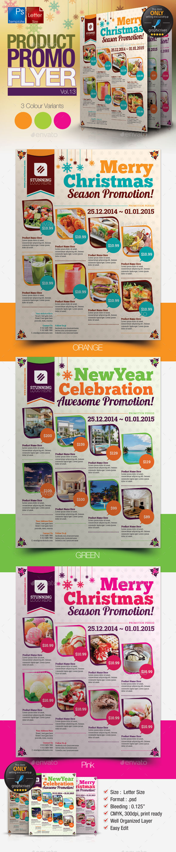 GraphicRiver Multi-Purpose Product Promotion Flyer Vol.13 9744256