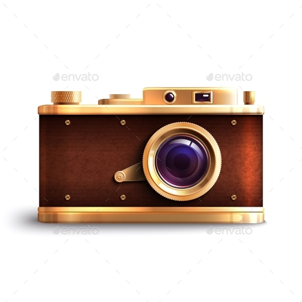 GraphicRiver Retro Style Camera 9744475