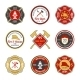 Fire Department Emblems - GraphicRiver Item for Sale