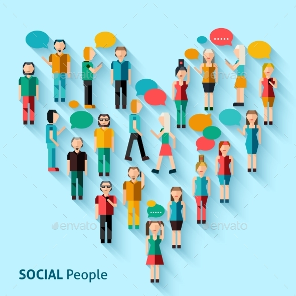 GraphicRiver People Pixel Avatars 9744517