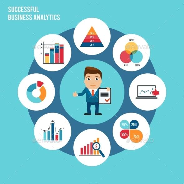 GraphicRiver Business Chart Set 9744520
