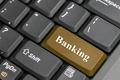 Brown banking on keyboard - PhotoDune Item for Sale