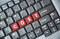Cost key on keyboard - PhotoDune Item for Sale
