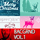 Merry Christmas Backgrounds - Cards Vol.1 - GraphicRiver Item for Sale
