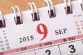 September 2015 - Calendar series - PhotoDune Item for Sale