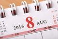 August 2015 - Calendar series - PhotoDune Item for Sale