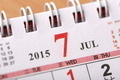 July 2015 - Calendar series - PhotoDune Item for Sale