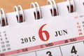June 2015 - Calendar series - PhotoDune Item for Sale