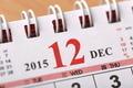 December 2015 - Calendar series - PhotoDune Item for Sale