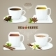 Tea and Coffee Cups Set - GraphicRiver Item for Sale