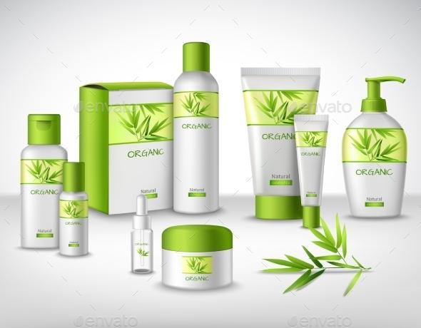 GraphicRiver Cosmetics Decorative Set 9746209
