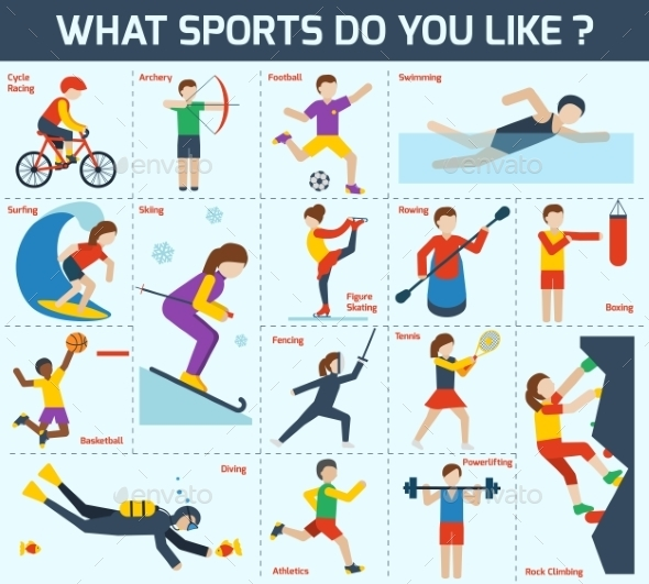 GraphicRiver Sports Icons Set 9746813