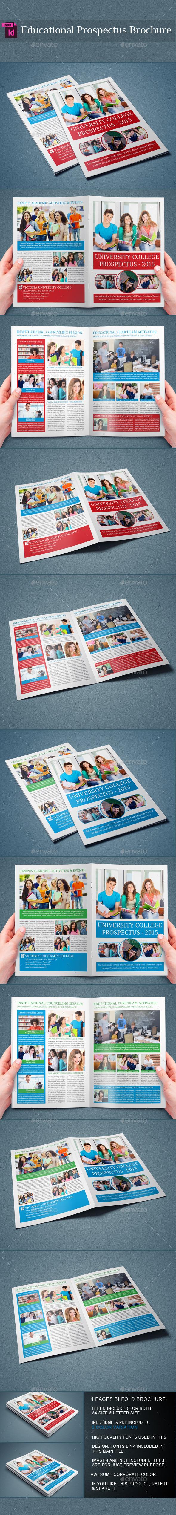 GraphicRiver Prospectus Bi-Fold Brochure 9747088