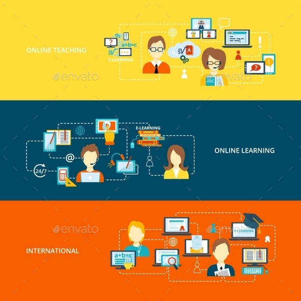 GraphicRiver E-Learning Banners 9747169