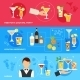 Alcohol Cocktails Banner Set - GraphicRiver Item for Sale