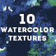 10 Watercolor Textures - GraphicRiver Item for Sale