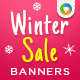 Winter Fashion Banners - GraphicRiver Item for Sale